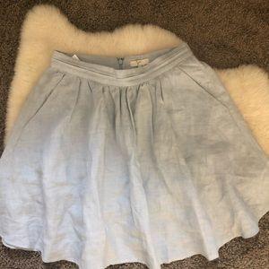Joie light blue skirt